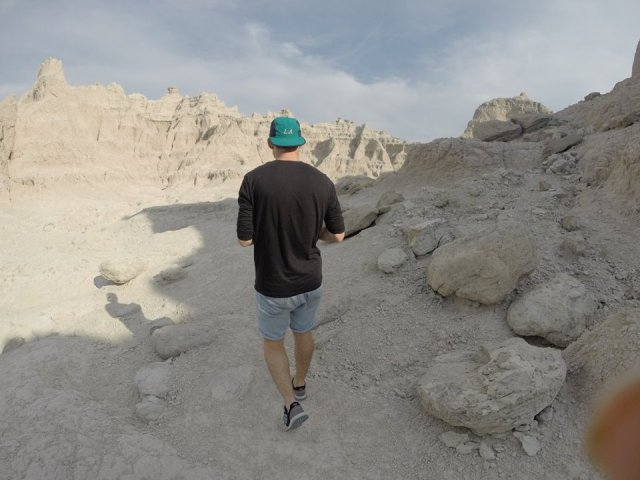 LA hat badlands
